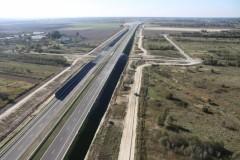 Budowa autostrady A4 na wykończeniu