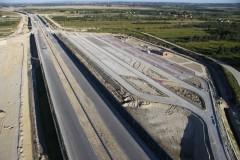 Budowa autostrady A4 (zdjęcia lotnicze)