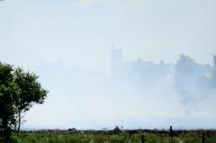 Pożar na łąkach w dniu 31.05.2012r.