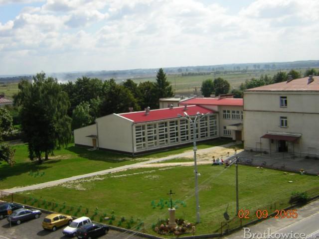 Widok z wieży kościelnej