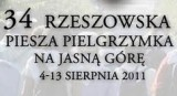 34. Rzeszowska Piesza Pielgrzymka przechodzi przez Bratkowice
