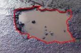 Dziurawe drogi, jak co roku po zimie