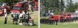 Zawody strażackie na stadionie w Bratkowicach