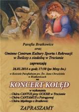 Koncert kolęd w Bratkowicach