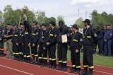 Gminne zawody strażaków - nasza drużyna wicemistrzem