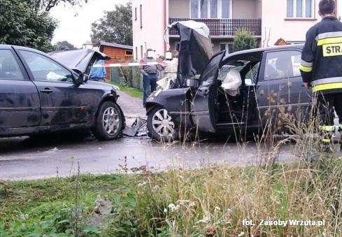 6 osób rannych w wypadku!